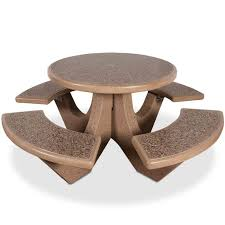 round cement picnic tables 20 best concrete picnic tables images on pinterest picnic tables