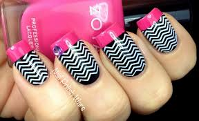 nail polish wars barbie esque chevrons