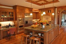 home depot custom kitchen cabinets home depot kitchens in brown cabinetry and light grey wall paint