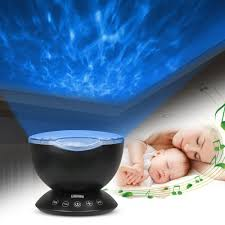 kids night light with timer ocean wave night light komake baby night light projection usb timer