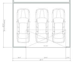 dimensions of a 2 car garage 3 car garage dimensions mailgapp me