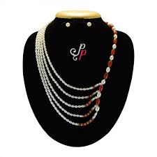 trendy pearl necklace images Exclusive pearl necklace sets designer piece trendy pearl set jpg