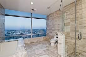 Bathtub Los Angeles Contemporary Master Bathroom With Drop In Bathtub U0026 Master