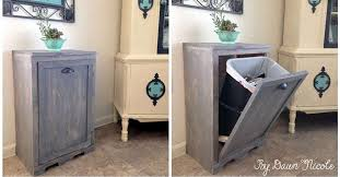 Kitchen Cabinet Trash Terrific Kitchen Trash Can Ideas 1000 Ideas About Trash Can