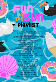 fun in the sun pool party playlist party playlist birthdays and
