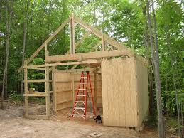 where to find plans for building a run in shed for my horses