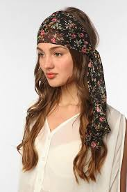 hair chiffon hair scarf designs and patterns world scarf