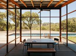 william wurster goodbye grid and cushy beds hello pool in the wilderness dwell