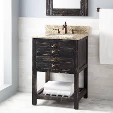 natural wood vanity signature hardware