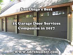 garage door repair escondido san diego u0027s best 25 garage door services companies in 2017
