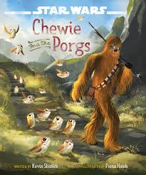 star wars chewie and the porgs disney books disney publishing