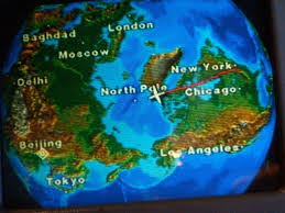 Condor Airlines Route Map by Air Travel Do Airlines Fly Directly Over The North Pole
