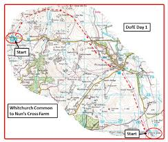 B15 Bus Route Map by Bushcraft Days U2013