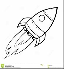 good black and white space rocket ship coloring pages with rocket