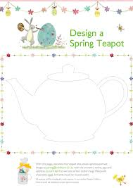 whittard of chelsea design a spring teapot children u0027s competition