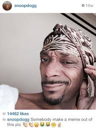 make a meme out of this snoop dogg s selfie memes know your meme