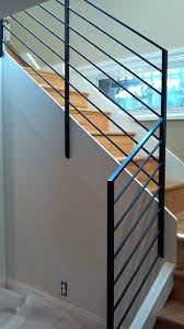 steel stair railing cost modern metal stair railing kits metal