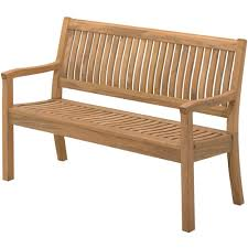 gloster kingston teak outdoor bench 963 4 1 311 00 gloster