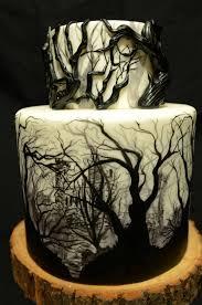 Halloween Skull Cakes by Halloween Cakes Evite
