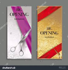 Opening Ceremony Invitation Card Design Invitation Shop Opening Invitation Template