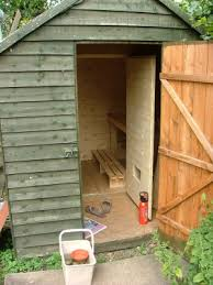 How To Build A Shed House by How To Build A Sauna On A Budget The Finished Sauna I So Want