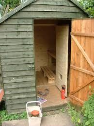 how to build a sauna on a budget the finished sauna i so want