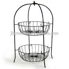 fruit basket stand 2 tier wire fruit basket metal fruit basket stand cheap wire