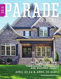 True Homes Design Center Kernersville by 2016 Spring Parade Of Homes By Greensboro Builders Association Issuu