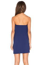 Drape Tunic Dress Susana Monaco Tube Drape Tunic In Blue Lyst