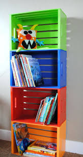 Bookcase Pantry Bookshelf Made From Crates You Can Get At Also Like The Idea Of