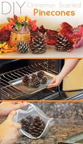 how to make cinnamon scented pinecones two easy tutorials