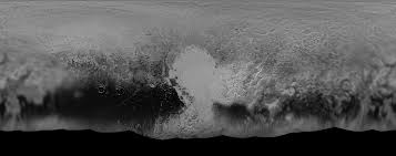 Black And White Map Pluto A Global Perspective Nasa