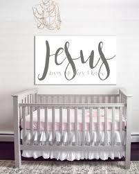 Nursery Decor Jesus Me Nursery Wall Farmhouse Nursery Decor