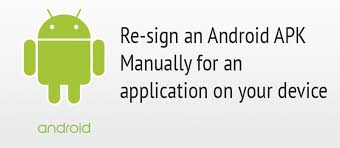 sign apk re sign an android apk manually for an application w3 tweaks