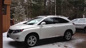 lexus rx 450h consumer reviews 2011 lexus rx450h awd partial review youtube