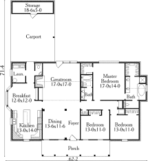 southern style house plan 3 beds 2 50 baths 2177 sq ft plan 406 147