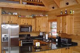 log cabin kitchen cabinets unique decor black kitchens rustic