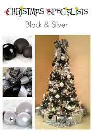 Black White Christmas Decorations For Trees by 56 Best Black U0026 White Christmas Images On Pinterest Christmas