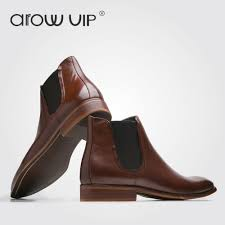 arow vip genuine leather chelsea boots men ankle boots u2013 exactly