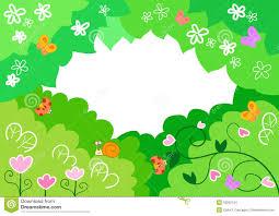 cartoon spring background stock images image 18252154