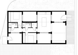 tiny house floor plan 120 sqm modern small house design idea with courtyards concept