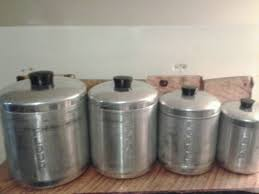 vintage kitchen canister vintage kitchen canister sets retro nesting kitchen canister set
