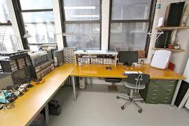 Corner Studio Desk Rhizome Announce Studio Desk Spaces Available In Chelsea From