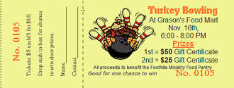 thanksgiving ticket templates raffle ticket software