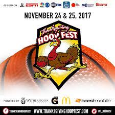 thanksgiving hoopfest home