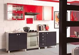 küche retro retro küche küchenzeile rot schwarz einbauküche 70ger jahre küche
