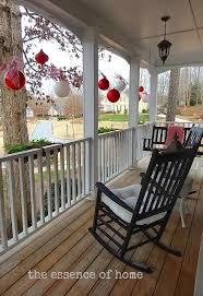 front porch christmas decor 17 best ideas about christmas porch