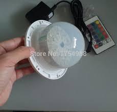 wholesale led under table lights 5pcs dhl free shipping 120mm base waterproof led light l for led