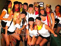 Halloween Costume Ideas College Girls Original Girls Group Halloween Costume Idea Mess Express