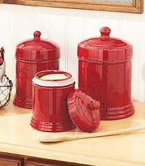 100 red kitchen canisters 100 decorative kitchen canisters